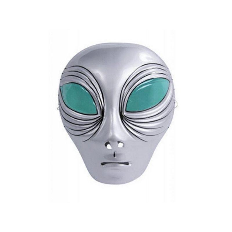 Masque plastique alien enfant Accessoires de fête 74213