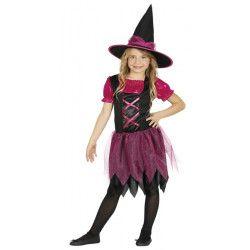 Déguisement sorcière avec paillettes fille Déguisements 87444-