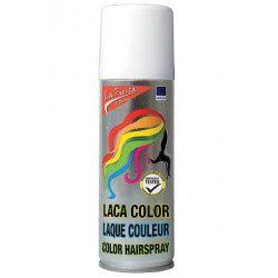 Laque cheveux colorante blanche Accessoires de fête FA18011-BLANC