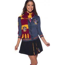 Echarpe luxe Gryffondor Harry Potter™ Accessoires de fête H-39033