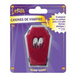 Canines vampire sanglantes Halloween Accessoires de fête 63296