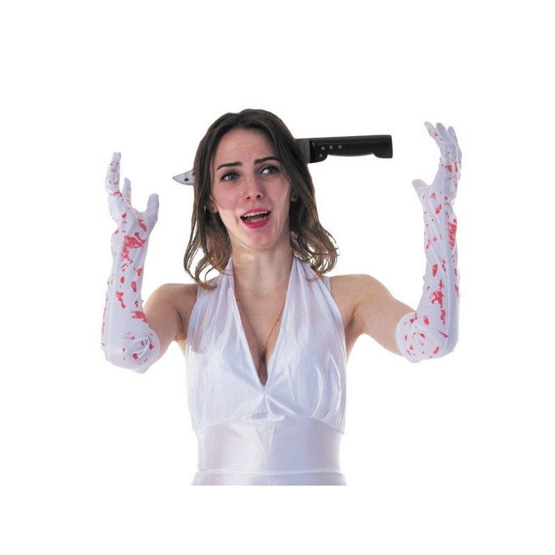 Serre tête couteau farce halloween Accessoires de fête 8655007