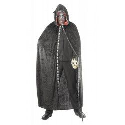 Cape noire avec capuche adulte halloween Accessoires de fête 87286697