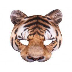 Demi-masque tigre adulte Accessoires de fête 56730