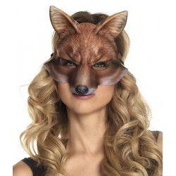Demi-masque renard adulte Accessoires de fête 56732