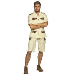 Déguisement safari beige homme taille M-L Déguisements 83882