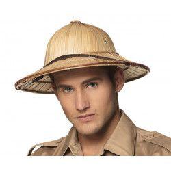 Casque ou chapeau colonial explorateur adulte Accessoires de fête 95464