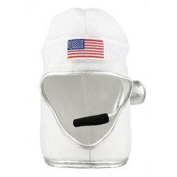 Casque astronaute américain adulte Accessoires de fête 04283