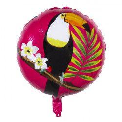 Ballon alu Toucan 45 cm Déco festive 52592