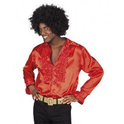 Déguisement chemise disco rouge homme Déguisements 0211-
