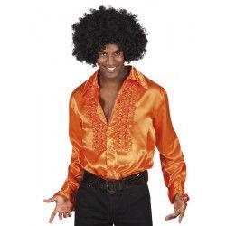 Déguisement chemise disco orange homme Déguisements 02116-