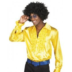 Déguisement chemise disco jaune homme Déguisements 02131-