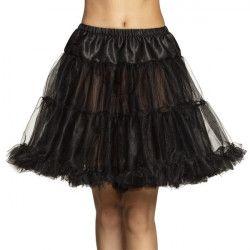 Déguisement jupon luxe noir femme Accessoires de fête 01765
