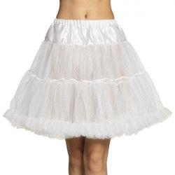 Déguisement jupon luxe blanc femme Accessoires de fête 01766