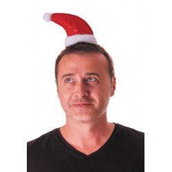Serre-tête bonnet Père Noël avec sequins Accessoires de fête 333171