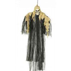 Squelette halloween 120 cm à suspendre Déco festive 19570