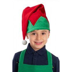 Bonnet elfe lutin enfant Accessoires de fête 09742