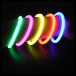 Pack de 100 bracelets fluo Accessoires de fête 01B01M