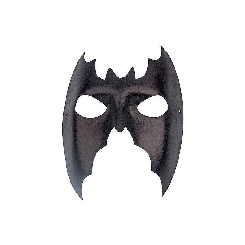 Masque chauve-souris noir Accessoires de fête 70553
