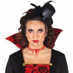 Accessoires de fête, Cicatrice de cou avec sang, 19615, 2,60€