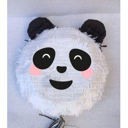 Pinata tête de panda à tirer 36 cm Déco festive 29520