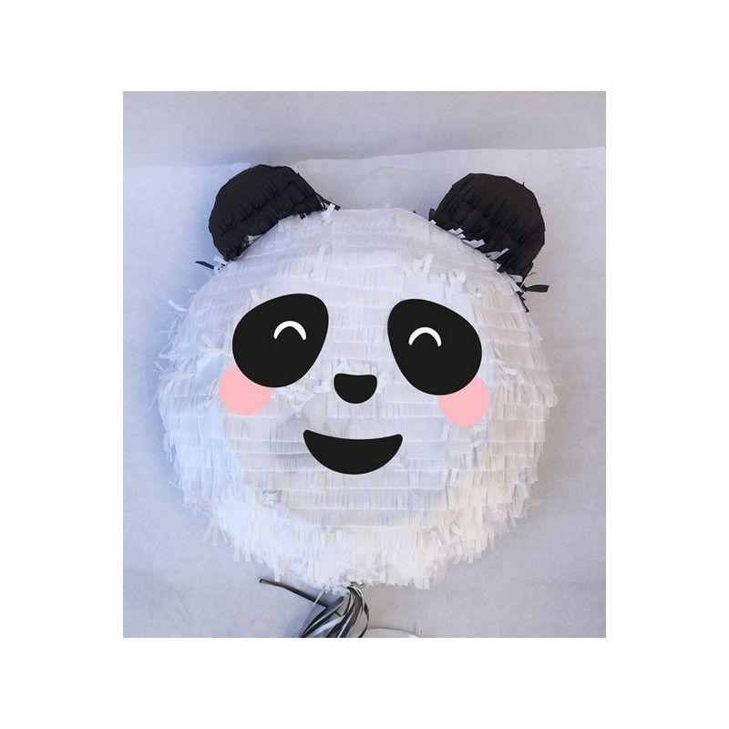 Pinata Tête De Panda à Tirer 36 Cm Produits à Classer Izdeguiz