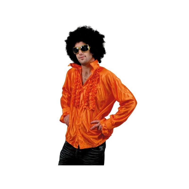 Chemise disco orange adulte taille XL Déguisements 8653181XL