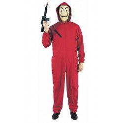 Déguisement braqueur rouge homme Déguisements 865791-