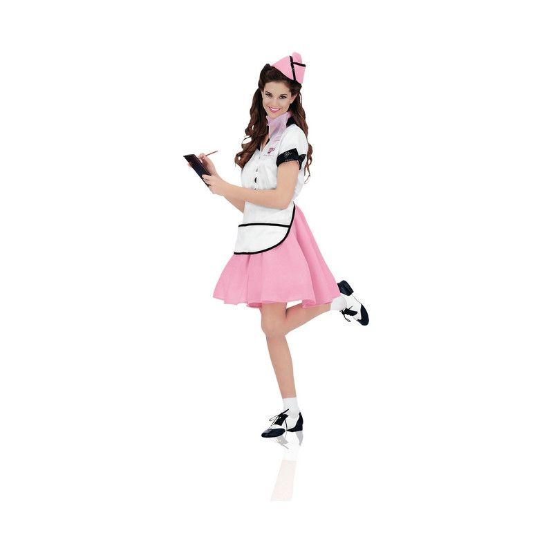 Déguisement Soda Pop Girl 50's rose femme Déguisements I-15918