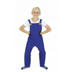 Déguisement salopette bleue enfant Déguisements 86551-