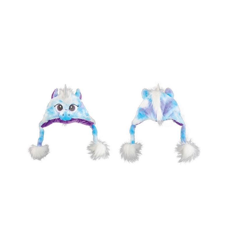 Coiffe licorne bleue taille unique Accessoires de fête C4338