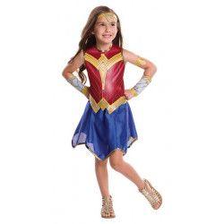 Déguisement classique Wonder Woman Justice League™ fille Déguisements I-640024-