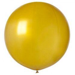 Sachet 1 ballon baudruche géant 80 cm or Déco festive BA19813OR