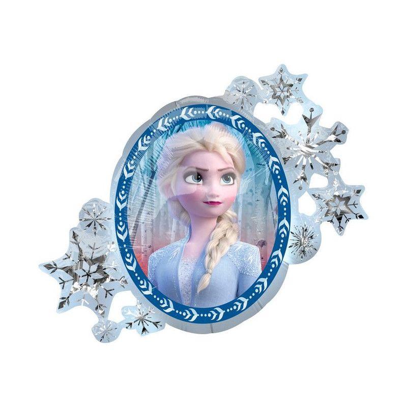 Ballon géant aluminium miroir Frozen 2™ Déco festive 4038801