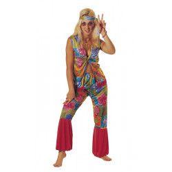 Déguisement hippie fleur femme taille L Déguisements 80648