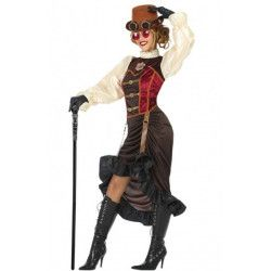 Déguisement steampunk élégante femme Déguisements 53905-