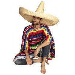 Sombrero mexicain Zapata 100 cm Accessoires de fête 95472