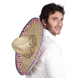 Sombrero mexicain Salvatore 52 cm Accessoires de fête 95424
