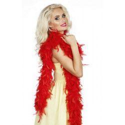 Boa 50 g 180 cm rouge Accessoires de fête 52613