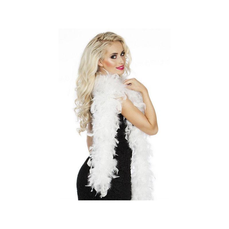 Boa 50 g 180 cm blanc Accessoires de fête 52612