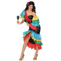 Déguisement danseuse de samba femme taille M-L Déguisements 26862