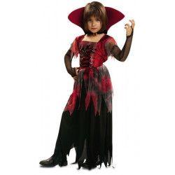 Déguisements, Déguisement vampiresse gothique fille 7-9 ans, 200174, 24,50€