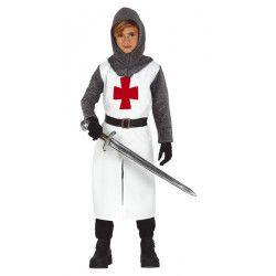 Déguisement chevalier templier garçon Déguisements 83592-