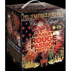Portable bouquet rouge passion 45 s Artifices 22514