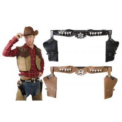 Holster double shériff adulte Accessoires de fête 583