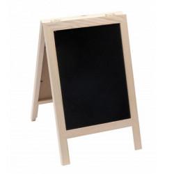 Tableau noir marque place bois 29 cm Déco festive 738NA
