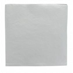 Lot 20 serviettes papier argent 33 x 33 cm Déco festive 916AR