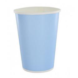 Gobelet carton bleu 10 pièces - 23 cl Déco festive 869BE