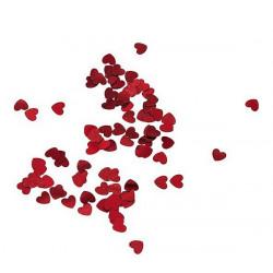 Confettis coeur 18 gr - rouge Déco festive 284RG