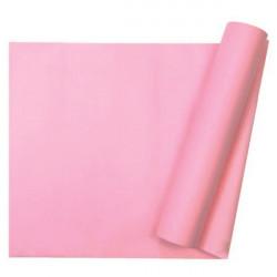 Chemin de table intissé rose - 10 m Déco festive 331RO